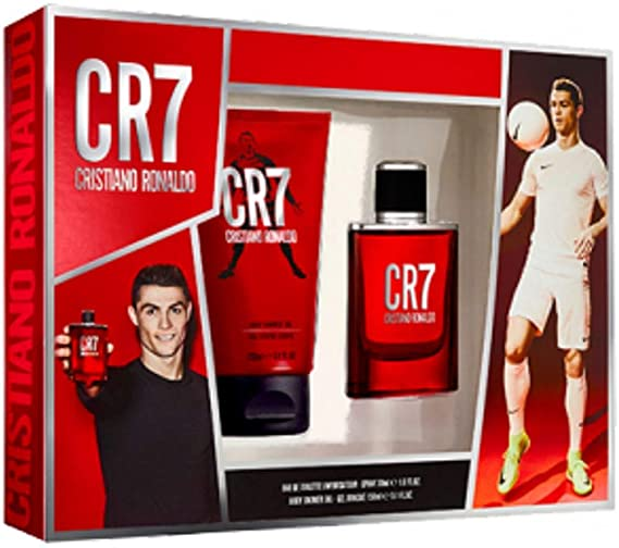 Cristiano Ronaldo CR7 Gift Set 50ml EDT 150ml Body Spray