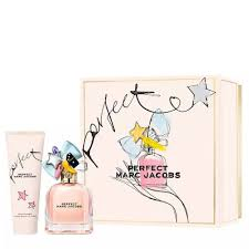 Marc Jacobs Perfect Gift Set 50ml EDP 75ml Body Lotion
