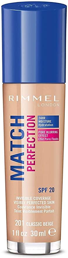 Rimmel Match Perfection Foundation SPF20 30ml 200 Soft Beige