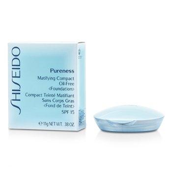 Shiseido Pureness Matifying Compact Oil free Powder Foundation SPF15 Light Beige