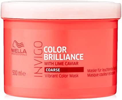 Wella Invigo Color Brilliance Vibrant Color Mask 500ml For Coarse Hair