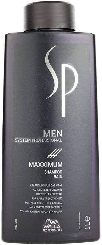 Wella Professional SP Men Maxximum Shampoo 1000ml
