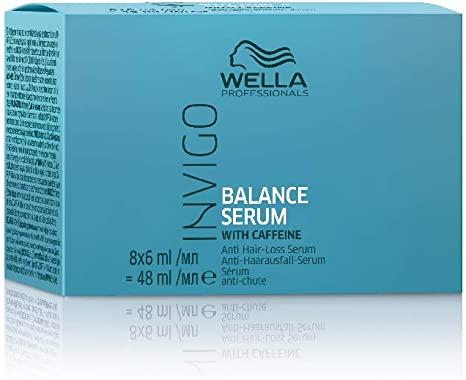 Wella Professionals Invigo Balance Anti Hair Loss Serum 8 x 6ml