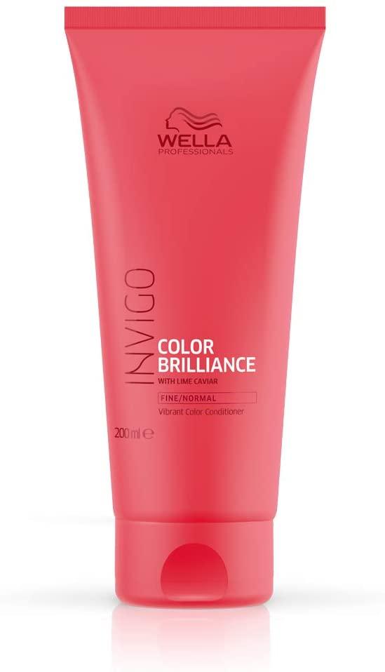 Wella Professionals Invigo Color Brilliance Conditioner 200ml For Fine And Normal Hair