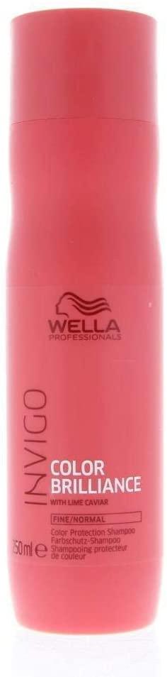 Wella Professionals Invigo Color Brilliance Shampoo 250ml For Fine And Normal Hair