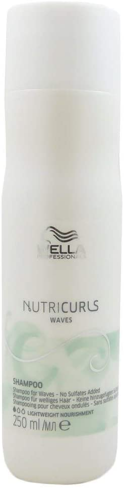Wella Professionals Nutricurls Waves Shampoo 250ml For Waves