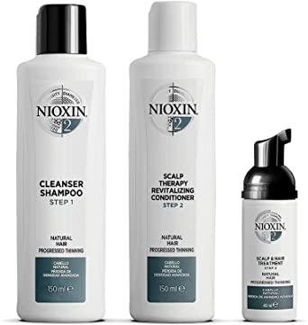 Nioxin Hair System Kit 2 Gift Set 3 Pieces
