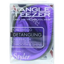 Tangle Teezer Compact Styler Black Violet Purple Black Hair Brush