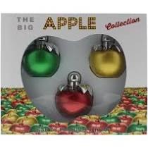The Big Apple Gift Set 100ml Green Apple EDP 100ml Gold Apple EDP 100ml Red Apple EDP