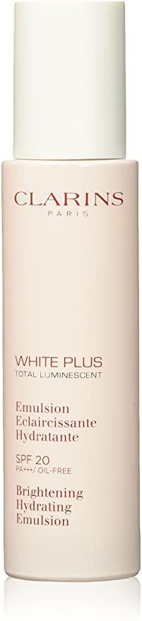 Clarins White Plus Total Luminescent Brightening Hydrating Emulsion SPF20 75ml