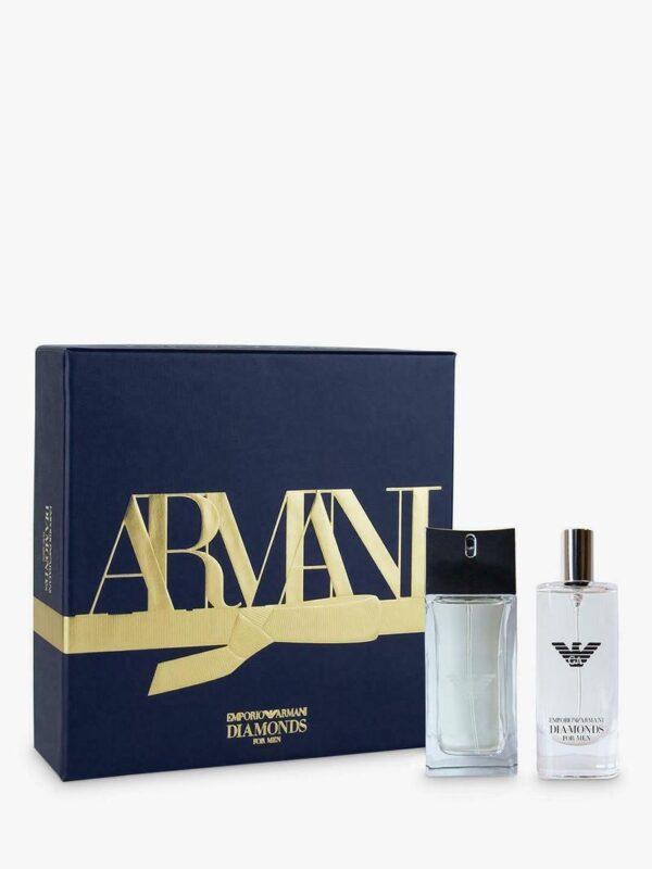 Emporio Armani Diamonds Gift Set 50ml EDT 15ml EDT Spray