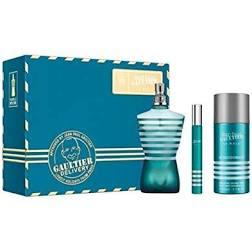 Jean Paul Gaultier Le Male Gift Set 125ml EDT 10ml EDT 150ml Deodorant Spray