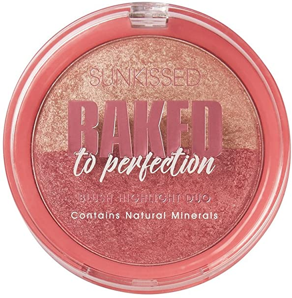 Sunkissed Baked To Perfection Blush Highlight Duo 17g