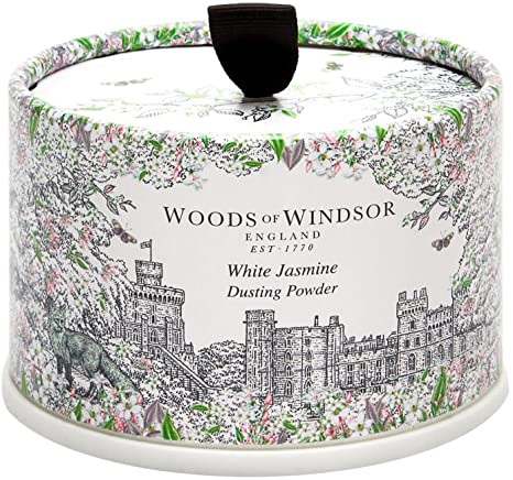 Woods of Windsor White Jasmine Dusting Powder 100g