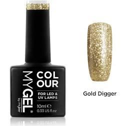 Nailed London Gel Wear Nail Polish 10ml Gold Digger