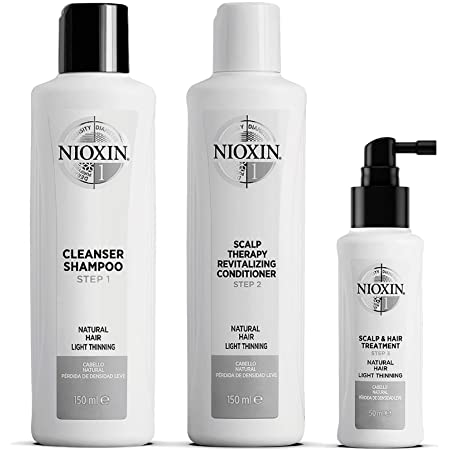 Nioxin 3 Part System No.1 Gift Set 3 Pieces – Natural Hair With Light Thinning