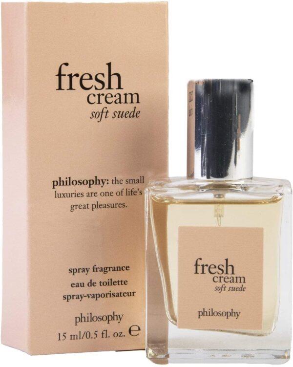 Philosophy Fresh Cream Soft Suede Eau de Toilette 15ml Spray