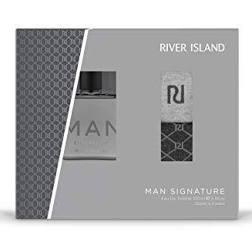 River Island Man Signature Gift Set 100ml EDT 2 Pairs Of Socks
