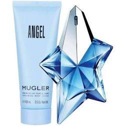 Thierry Mugler Angel Gift Set 50ml EDP Refillable 100ml Body Lotion