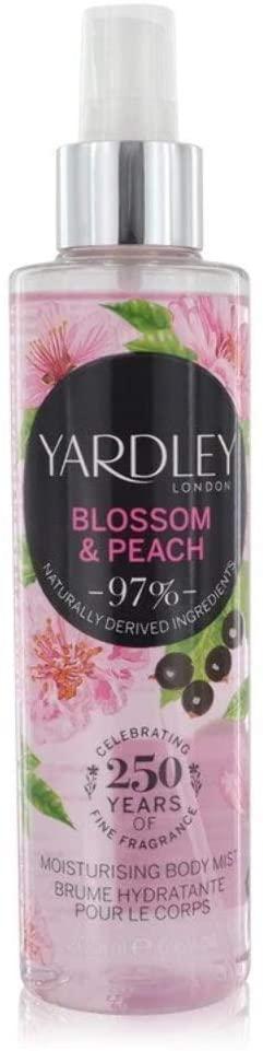 Yardley Blossom Peach Body Spray 200ml