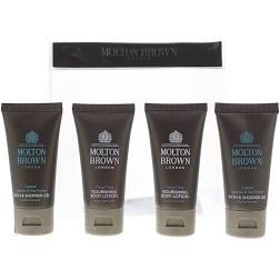 Molton Brown Gift Set 2 x 50ml Bushukan Body Wash 2 x 30ml Ylang Ylang Body Lotion