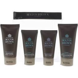 Molton Brown Gift Set 30ml Coastal Cypress Sea Fennel Body Wash 30ml Ylang Ylang Body Lotion