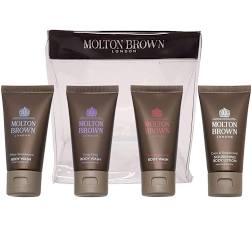 Molton Brown Gift Set 30ml Coco Sandalwood Body Lotion 30ml White Sandalwood Body Wash