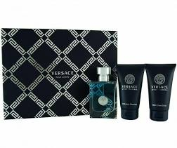 Versace pour Homme Gift Set 50ml EDT 50ml Shower Gel 50ml Aftershave Balm