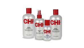 CHI Home Stylist Kit 350ml Infra Shampoo 350ml Infra Treatment 350ml Keratin Mist 50ml Silk