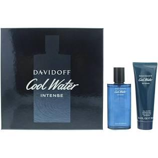 Davidoff Cool Water Intense Gift Set 75ml Eau De Parfum Spray 75ml Shower Gel